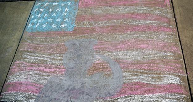 flag-in-chalk